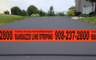 Randazzo Line Striping in front of driveway